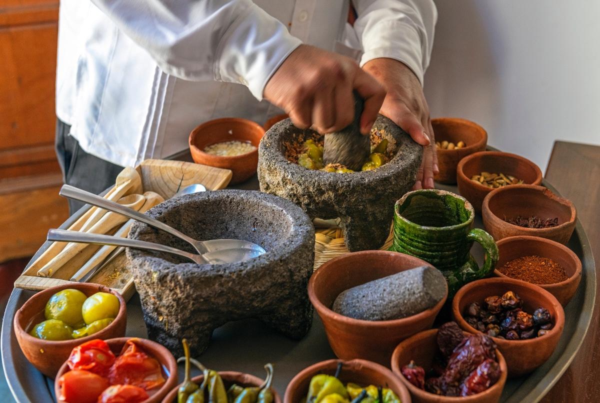 Imagen de productos de producción local en Chile