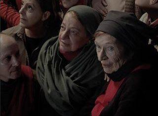 Imagen de una videoexposición del Museo de Bellas Artes