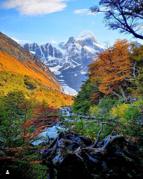 Aún queda verano-Torres del Paine en otoño