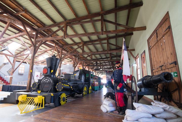Estación de Ferrocarriles de Caldera