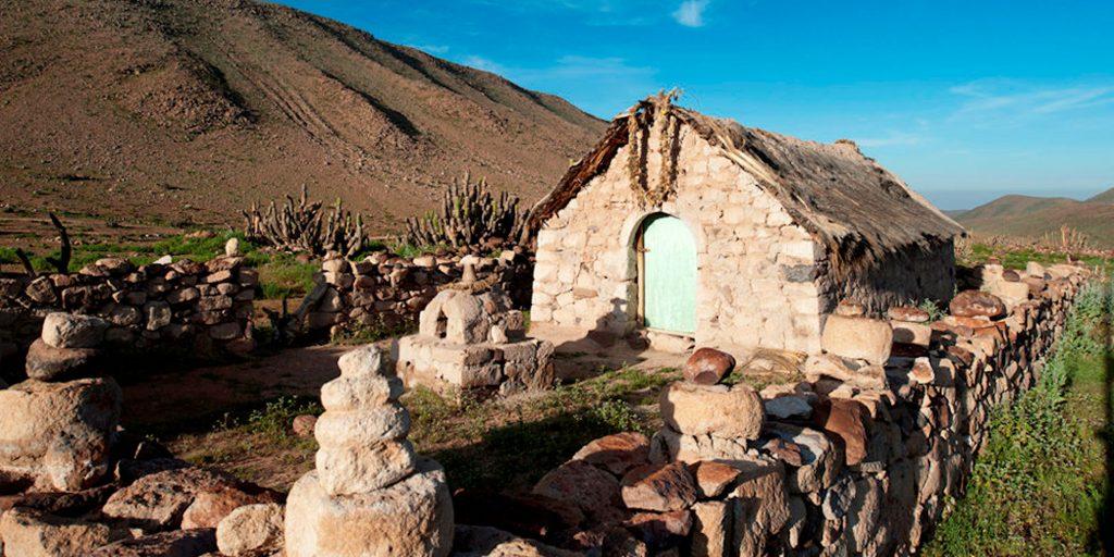 Iglesia de Saguara en la región de Arica