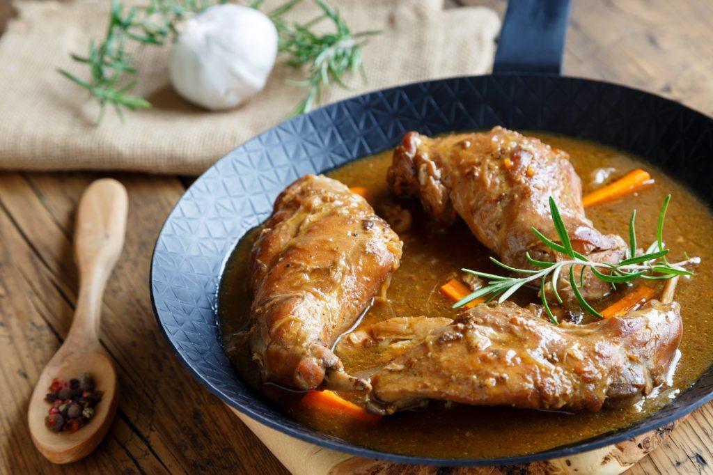 Comida chilena - Picante de conejo
