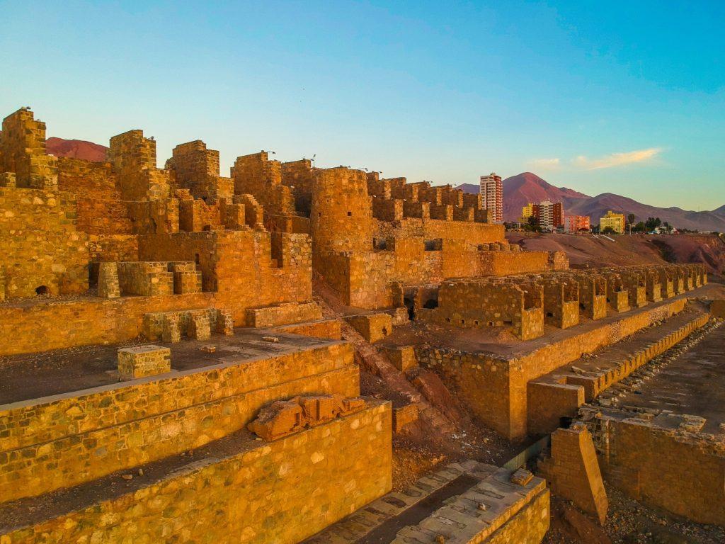 Ruinas de Huanchaca en la región de Antofagasta