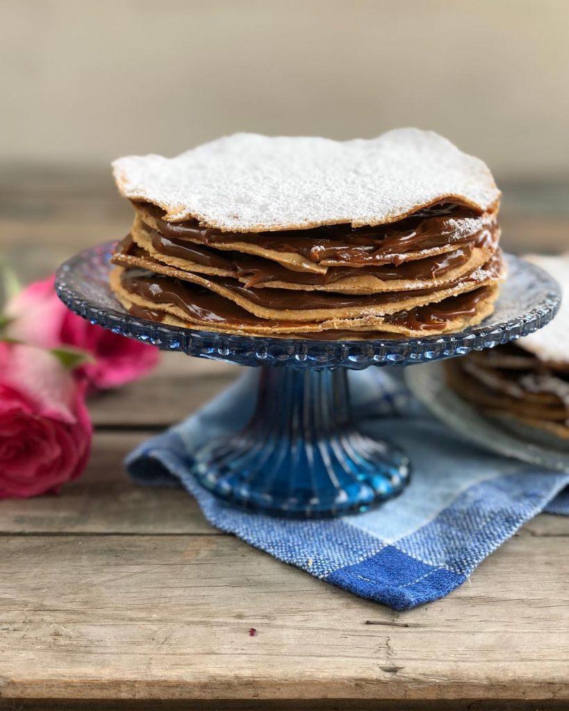 Torta Curicana, fotografía de Claudia Varleta de