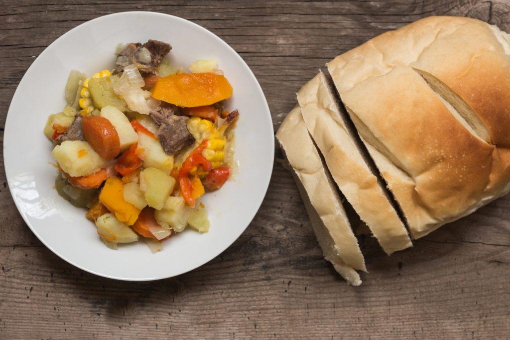 La carbonada es un tipico plato chileno de invierno
