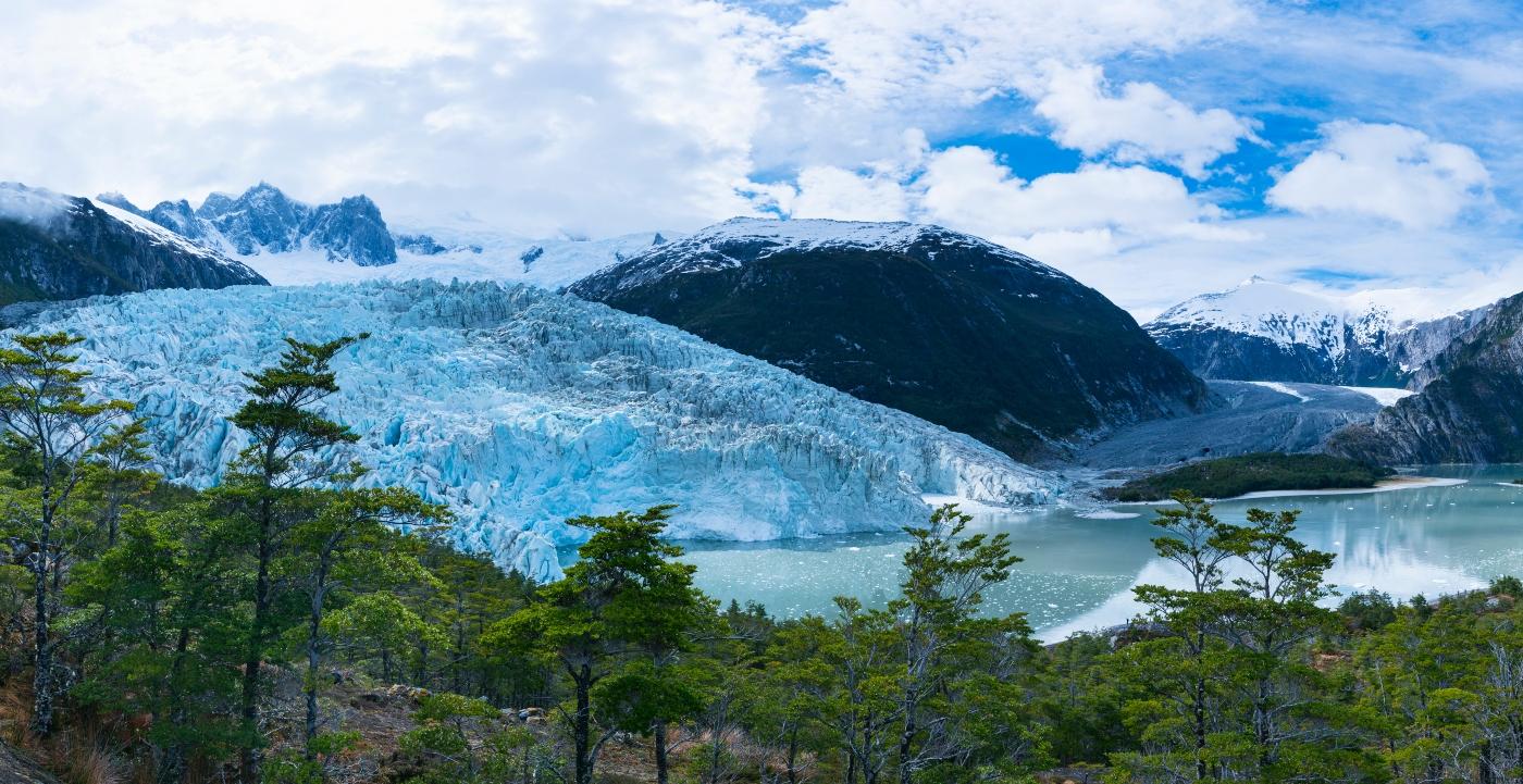 Cordillera de Darwin en Tierra del Fuego