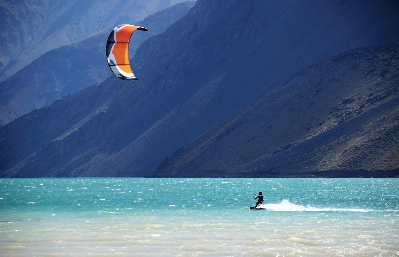 deportes de viento- kitesurf en Chile