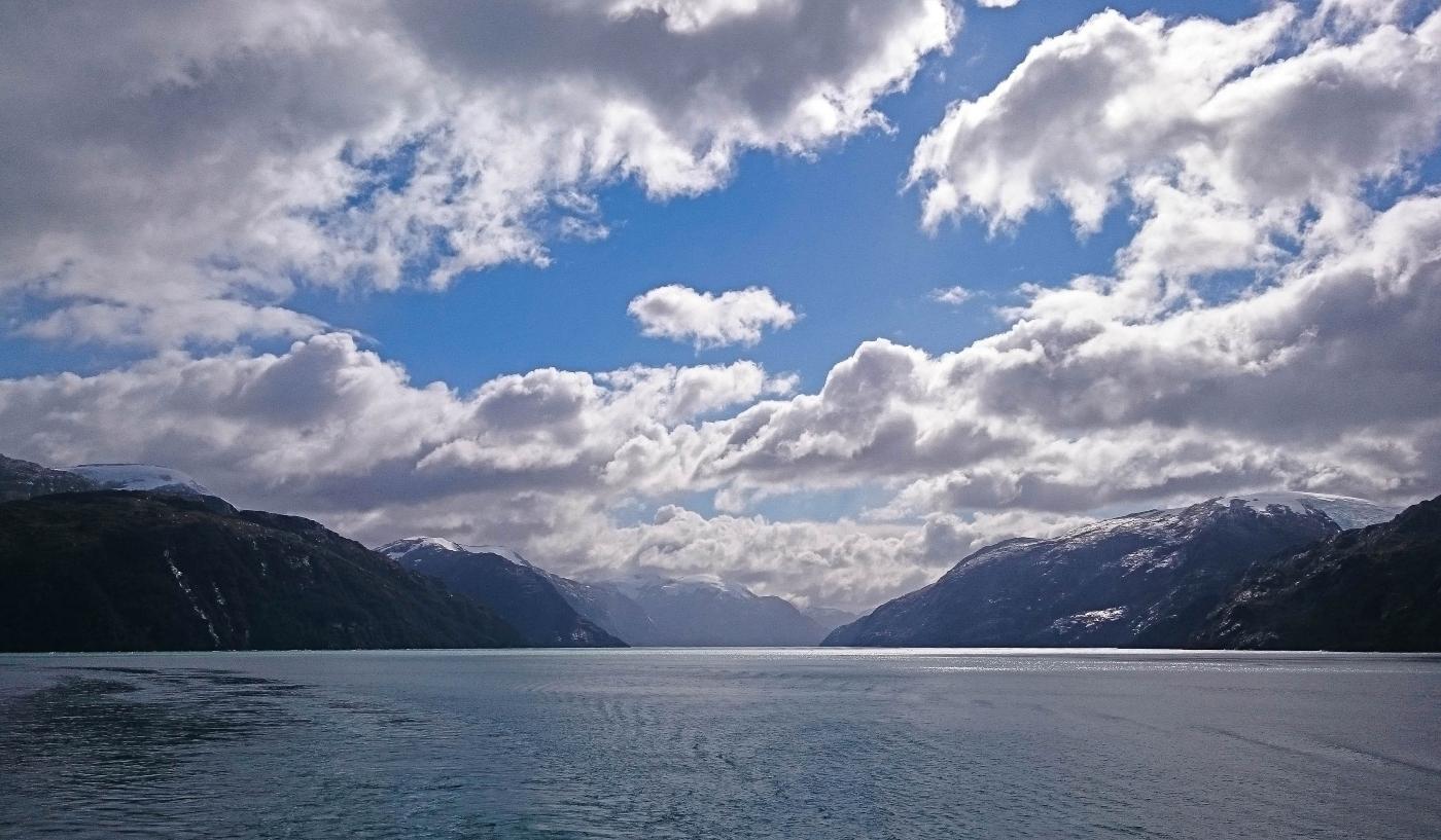 Tierra del Fuego- paisaje del Estrecho de Magallanes