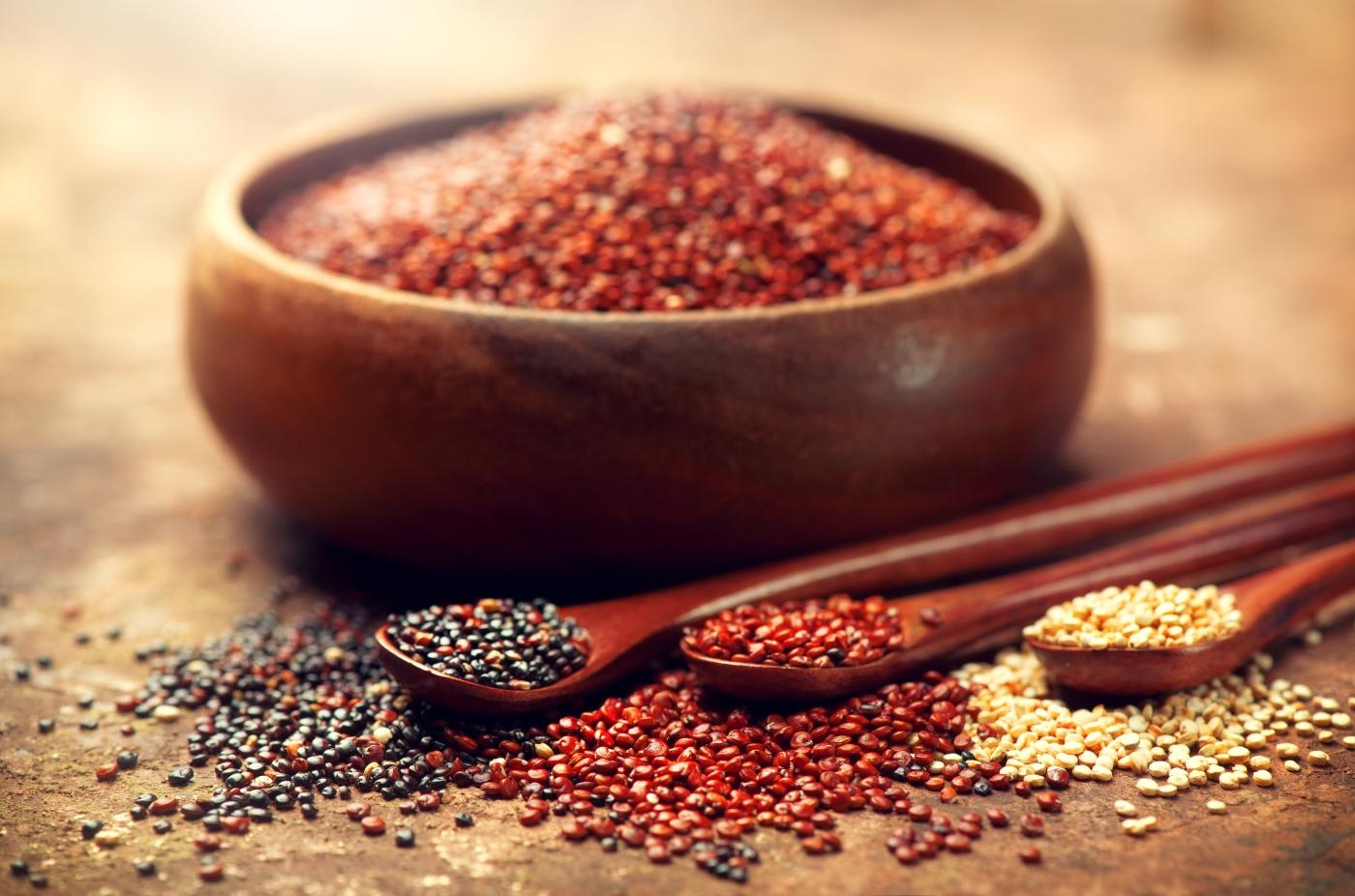 Cocina criolla chilena - quinoa de tres colores