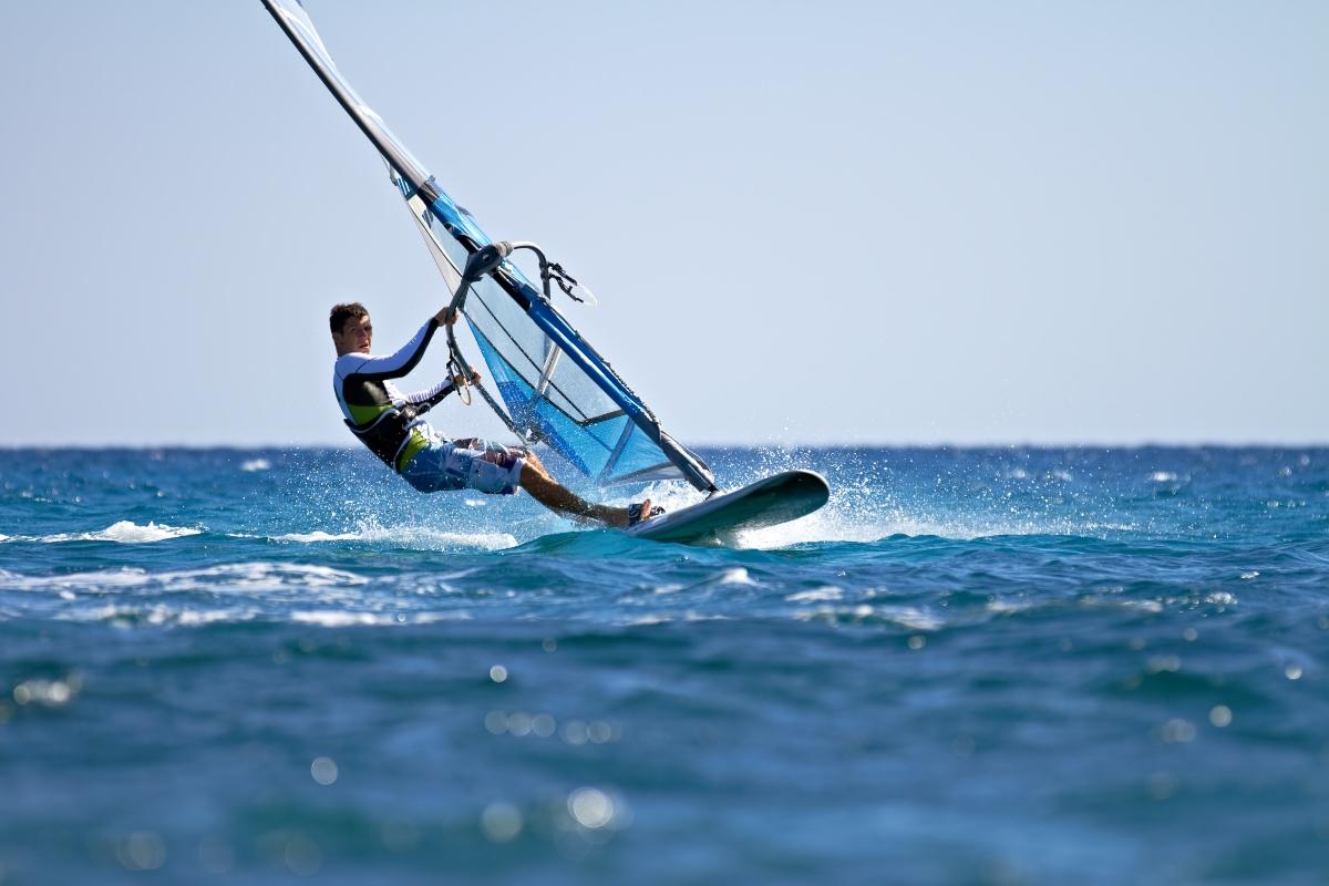 Deportes de viento- windsurf en Chile